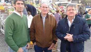Protesta de las entidades del campo en el Obelisco
