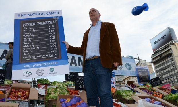 """Entidades agropecuarias reclaman por la """"profunda crisis""""."""