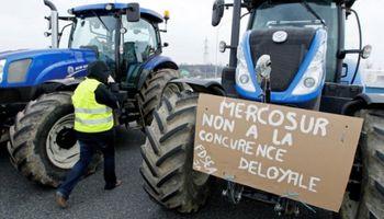 Protesta en Francia contra el potencial acuerdo entre UE y Mercosur