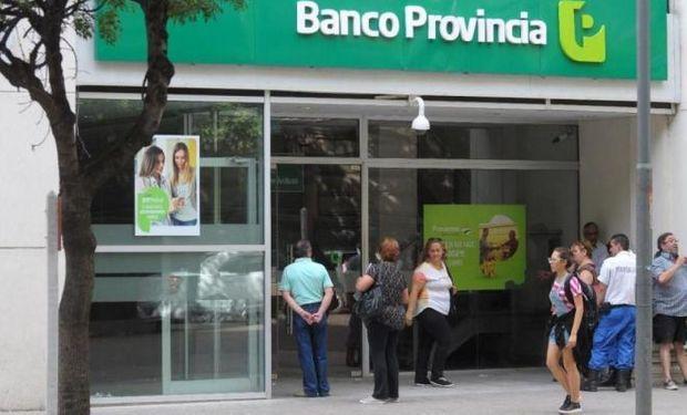 Banco Provincia.