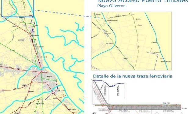 Proyecto ferroviario mejorará el acceso a los puertos del Gran Rosario.