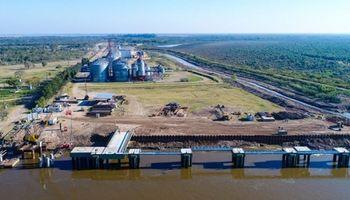 Nación brindará recursos para la finalización del puerto Las Palmas en Chaco