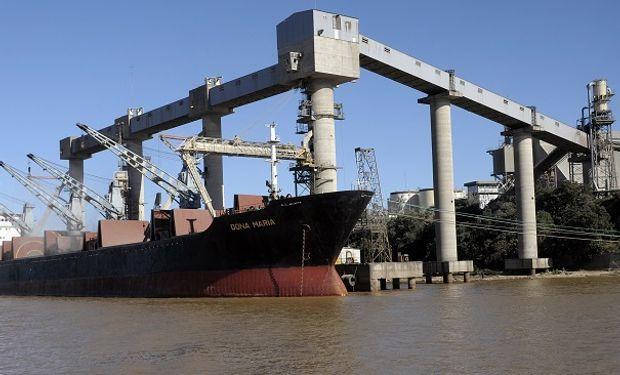 Nación instó a Timbúes y retorna la actividad portuaria y el ingreso de camiones