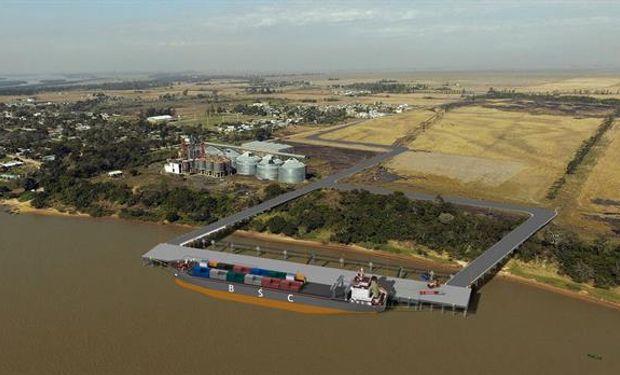 Así será el nuevo puerto.