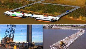 De Usuhaia a Corrientes: mirá las principales obras en materia de puertos
