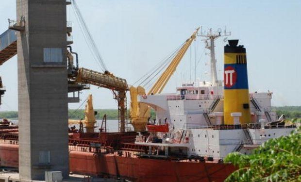 Puertos cerealeros se anticipan para que el incremento de la cosecha no aumente los costos logísticos.