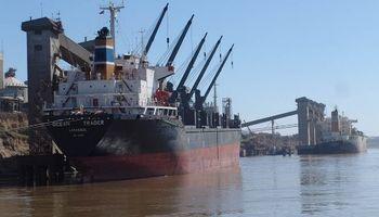 Paro en puertos de Rosario