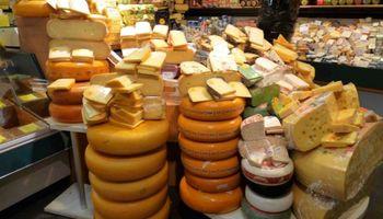 Brecha de precios para los quesos es enorme
