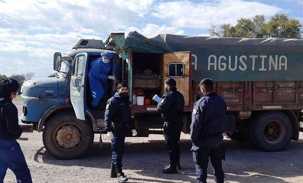 Camionero falleció mientras esperaba para descargar maíz