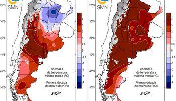 Récord: el tercer mes del año pasó a ser el marzo más cálido registrado para Argentina