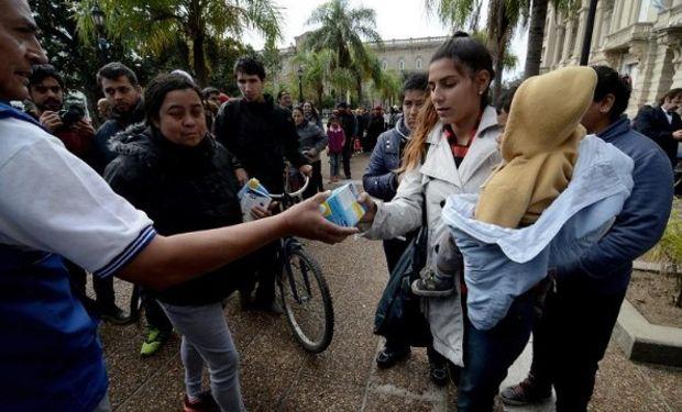 Tamberos santafesinos regalarán leche como medida de protesta.