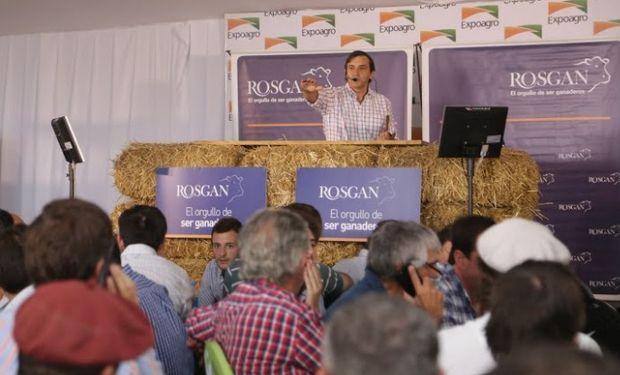 Subasta con cientos de productores de Rosgan.