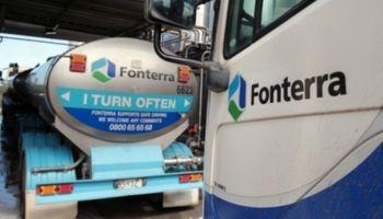 Fonterra: precios de los lácteos caen luego de la última suba