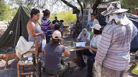 """""""Una realidad que conmueve"""": relevan y entregan ayuda a los trabajadores rurales afectados por el terremoto de San Juan"""