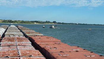 Más de 100 barcazas comenzaron a navegar por una descarga de Itaipú y Yacyretá: ¿Puede llegar agua a Rosario?