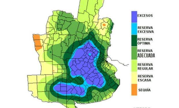 Reservas hídricas favorables para la fina