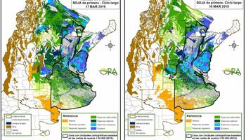 Cómo evolucionan las reservas de humedad en las principales regiones productoras