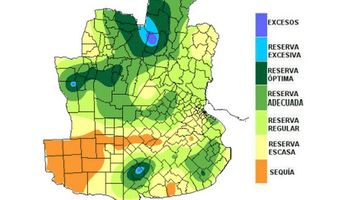 Lluvias benéficas para las reservas de humedad