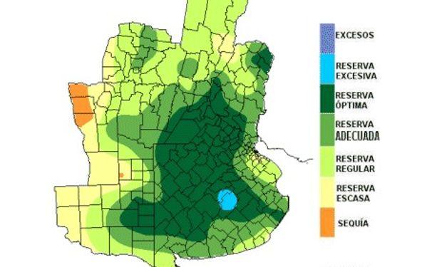 El sur bonaerense aprovecha niveles óptimos de humedad