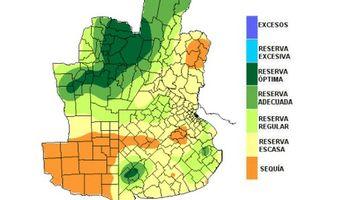 Reservas de humedad colaboran con el estado de los cultivos