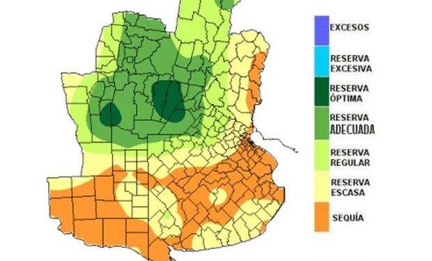 Reservas de humedad: lluvias beneficiosas y perjudiciales