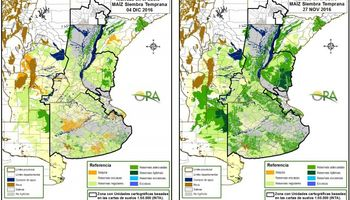 Mapa de la seca: las regiones que presentan mayor riesgo