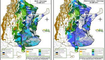 Excesos hídricos  siguen predominando en el área sojera argentina