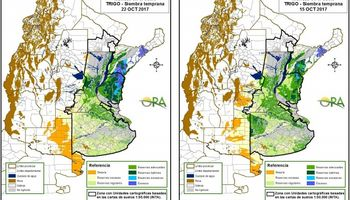 La escasa oferta de agua ajusta las reservas de humedad