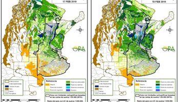 Avanza el déficit hídrico en el sur de Buenos Aires y La Pampa