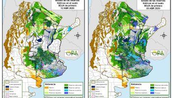 Las zonas que están bajo riesgo de exceso y déficit hídrico