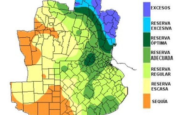 Reservas hídricas: continúan en retroceso