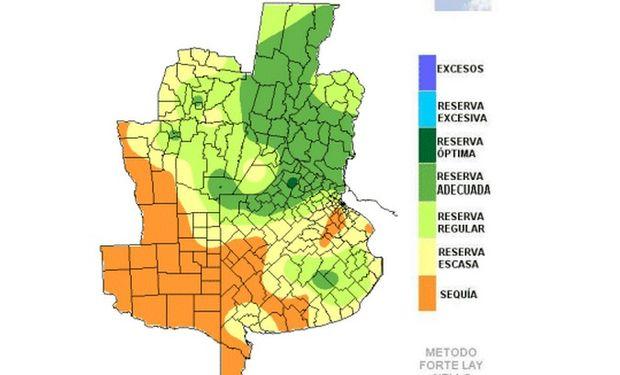 Por el calor y la escasez de lluvias las reservas hídricas siguen retrocediendo