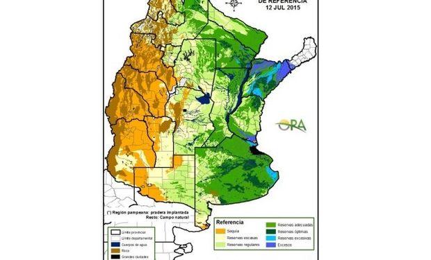 Con reservas hídricas adecuadas avanza la siembra de trigo