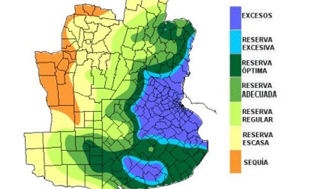 Abundantes precipitaciones ocasionan excesos hídricos