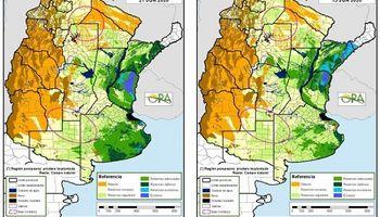 Cómo están las reservas de agua en el suelo para el trigo