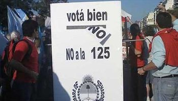 Siete años de 'la 125' y pocos cambios entre el Gobierno y el campo
