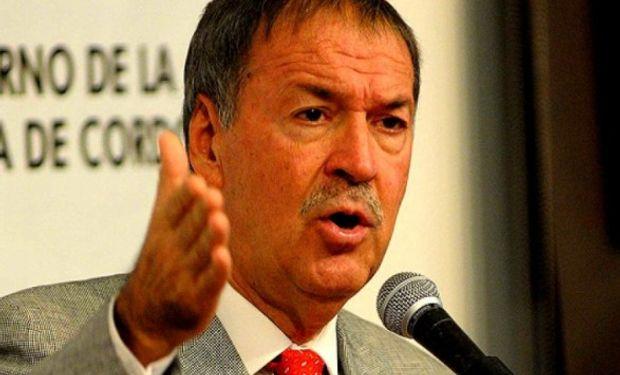 El gobernador cordobés le volvió a meter presión al gobierno nacional.