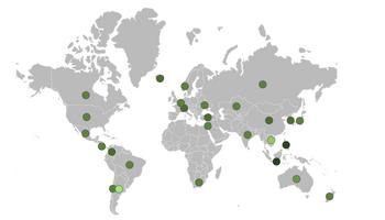 """Argentina, única en el mundo: un mapa interactivo muestra el """"apoyo"""" negativo que reciben los productores"""