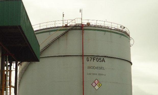 El biodiesel, casi sin retenciones.