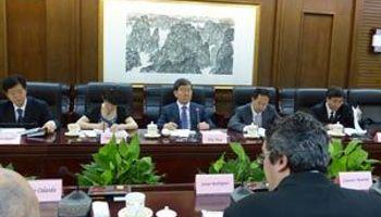 Reuniones con China para aumentar el comercio bilateral