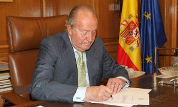Abdica el rey Juan Carlos de España