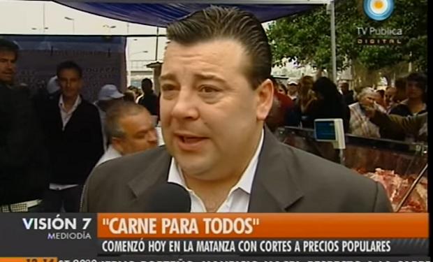"""""""Es justicia social"""": así defendía Ricardo Bruzzese las 15 cuadras de cola para comprar carne en 2011"""