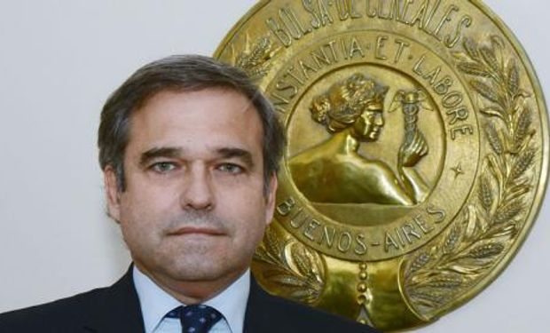 Ricardo D. Valderrama, nuevo Presidente de la Bolsa de Cereales de Buenos Aires.