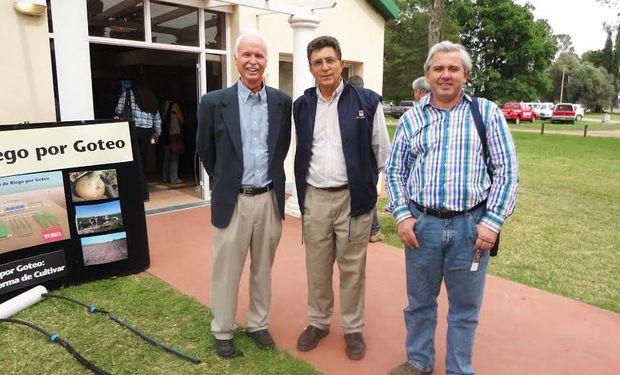 Freddie Lamm, Eduardo Martellotto y Stanley Best