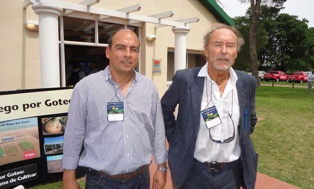 Aquiles Salinas y Jean Claude Mallhol