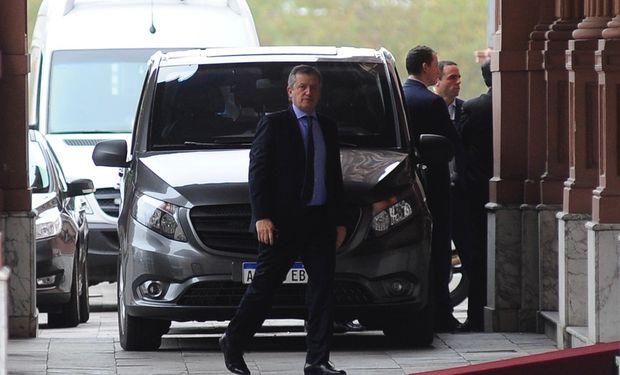 El presidente de la Cámara de Diputados, Emilio Monzó. Está al frente de las negociaciones para desactivar la sesión convocada por la oposición.