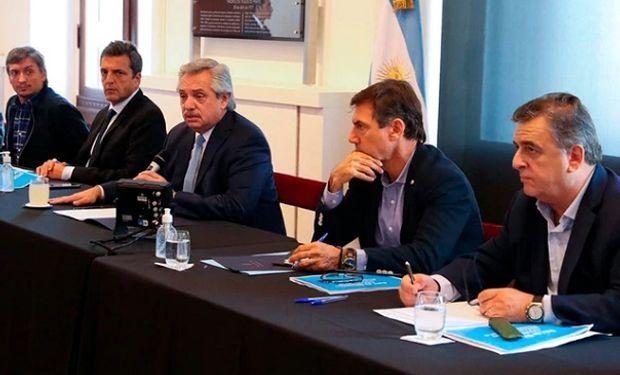 Alberto recibe a gobernadores para decidir una cuarentena total