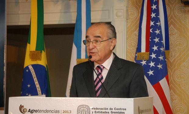 Roberto Riva, Presidente de la Federación de Acopiadores.