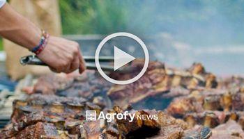 Insólito: se robó la carne del asado y quedó grabado