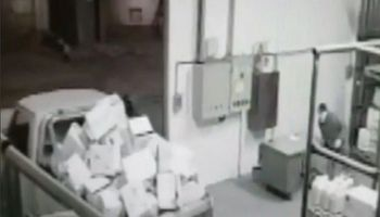 En solo 4 minutos, se robaron más de 2 millones de pesos en agroquímicos
